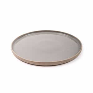 Krabi bord grijs 27 cm